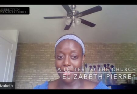 A Letter to the Church: Elizabeth Pierre