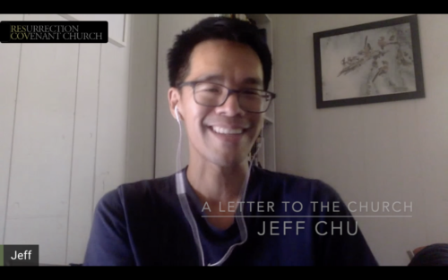 A Letter to the Church: Jeff Chu