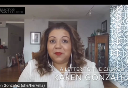 A Letter to the Church: Karen Gonzalez