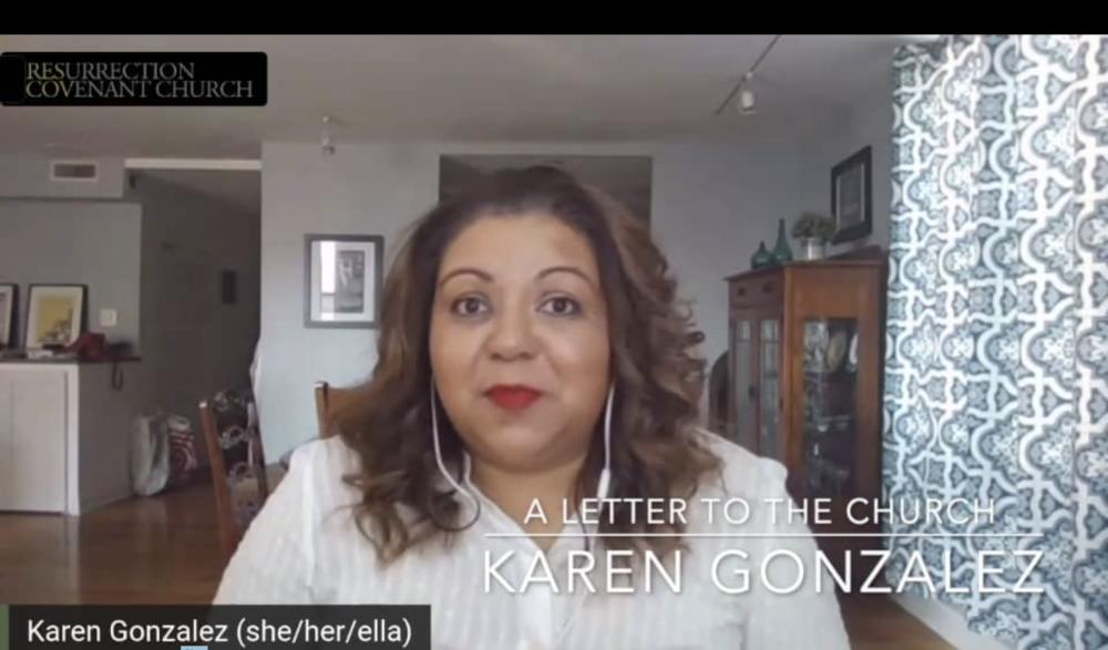 A Letter to the Church: Karen Gonzalez